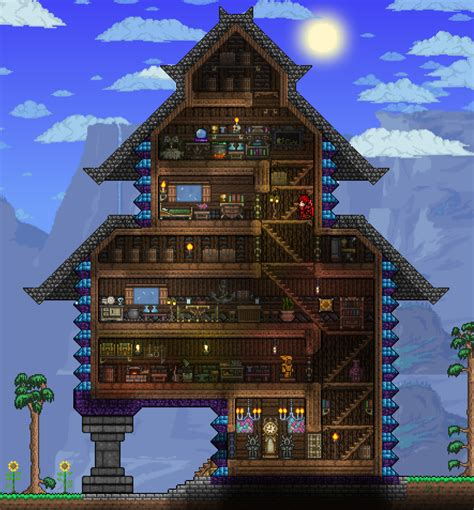 terraria houses pc ballin houses by eiv page 3 terraria community forums
