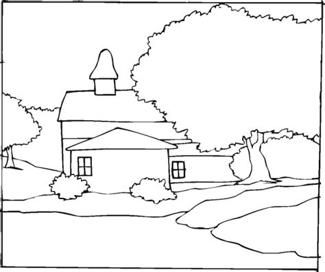 landscape coloring pages detailed landscape coloring pages for adults coloring pages