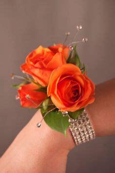 Lucuna Simple Ribbon Dress Ungu burgundy white roses pinon corsage wedding bridal by