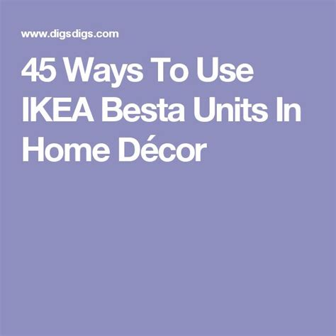 45 ways to use ikea besta units in home d 233 cor digsdigs oltre 25 fantastiche idee su divani grigi su pinterest