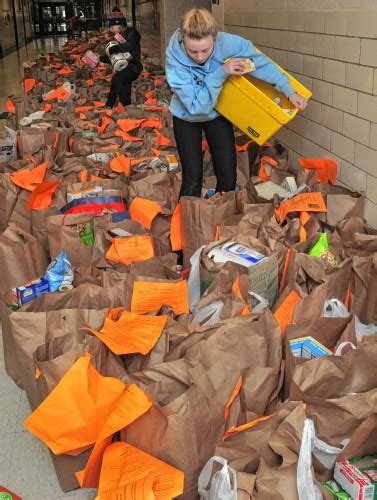overwhelming response for 7th annual bag the community