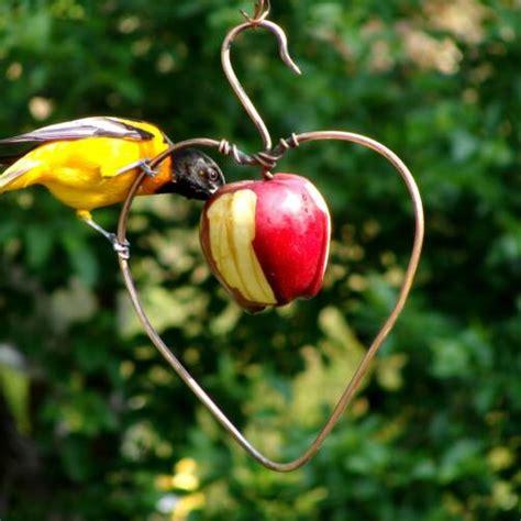 duncraft com copper heart fruit feeder