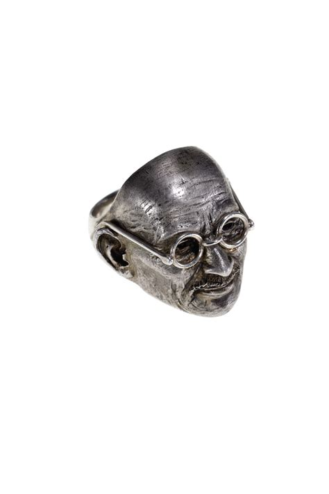 a silver ghandi ring by theo fennell christie s