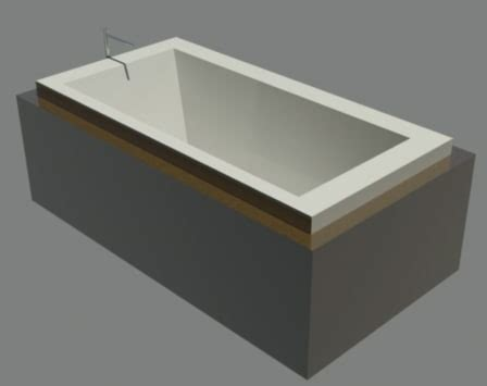 bain ultra bathtub 3d bain ultra bathtub model
