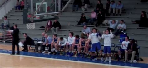 colby college bench celebrations this college team have turned bench celebrations into an