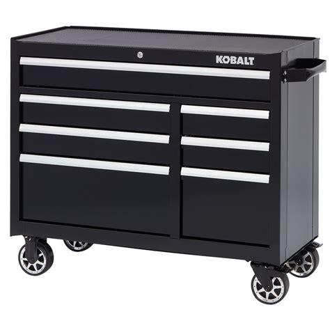 kobalt 7 drawer tool chest shop kobalt 34 5 in x 41 in 7 drawer ball bearing steel