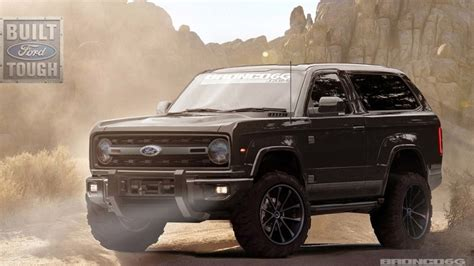 Official Ford Bronco by Ford Bronco Officially Coming Back Will Be Made In
