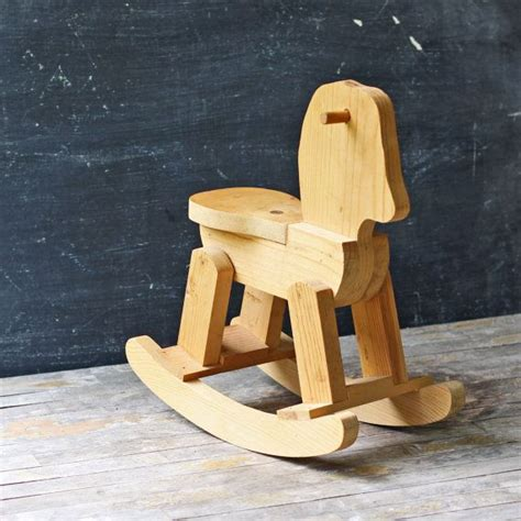 Handmade Wooden Rocking Sale - vintage handmade wooden rocking child s