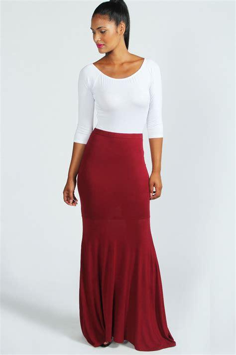 Savanabergo Pad Maxi Jersey Xl annabelle fishtail jersey maxi skirt berry berry shopping s fashion s