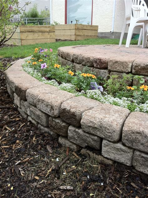 Flower Bed Stones by Build A Stacked Flower Bed In A Few Hours For