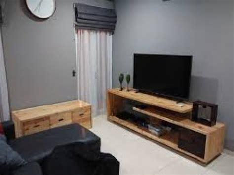 Rak Tv desain unik rak tv dari kayu palet