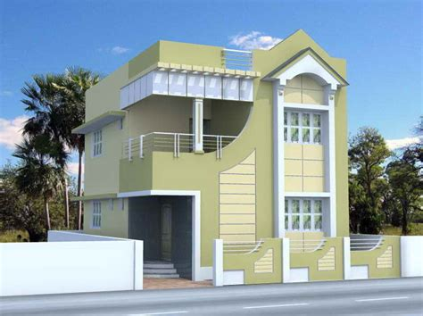 narrow plot house elevation studio design gallery best design