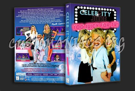 celebrity juice download celebrity juice too juicy for tv dvd cover dvd covers