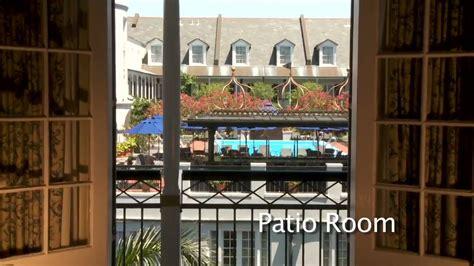 royal sonesta hotel patio room preview youtube