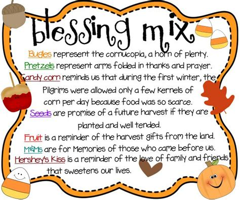 Blessing Mix Printable I Have No Greater Joy Thanksgiving Prayer Template