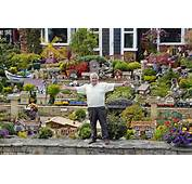 All Aboard Eric Marshall Spends Hours In His Front Garden With