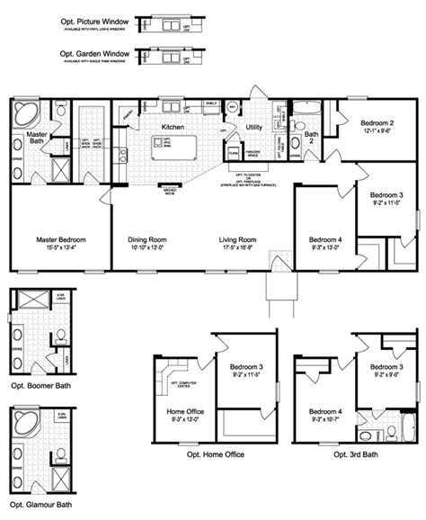oklahoma floor plans floor plan the harbor house ii ftp464m2 floor plan plans