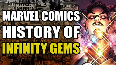 the history of infinity history of the infinity gems gauntlet
