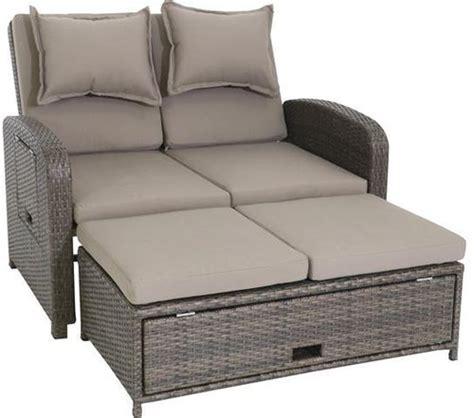 Lounge Sofa Outdoor Polyrattan by Testrut Bahia Loungesofa 2 Sitzer Polyrattan G 252 Nstig