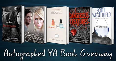 Ya Book Giveaway - autographed ya book giveaway