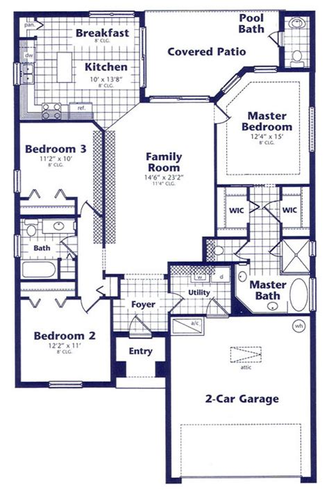 pelican palms house layout page