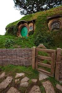 hobbit house new zealand paisajes pinterest