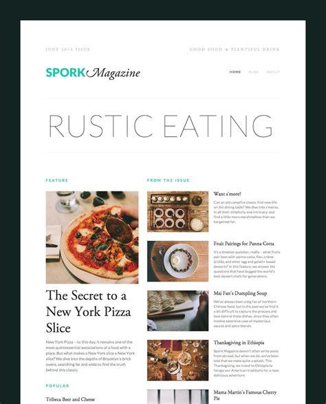 Magazine Layout Squarespace | magazine style layouts courtesy of our new summary block