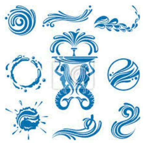 water sign tattoo water symbols logos water symbol water