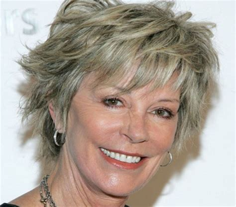 popular shag hair styles for women over 50 short wavy hairstyles for women over 50