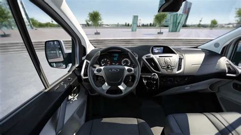 noul new ford transit custom 2013 spaţiul interior