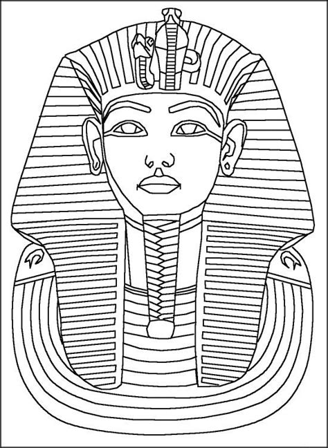 Printable Egyptian Art | free printable ancient egypt coloring pages for kids