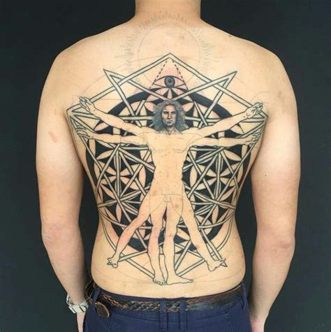 exotic tattoos for men 25 best ideas about vitruvian on