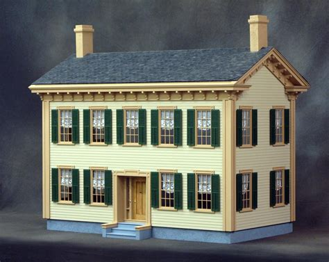 wooden doll house kits dollhouse kit dollhouse kits wooden dollhouse heirloom quality from vermont