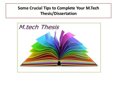 m tech dissertation m tech thesis report in electronics and communication