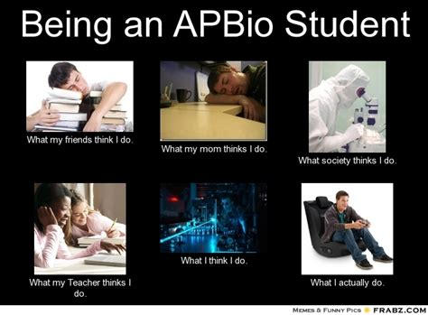 Bio Memes - being an apbio student meme generator what i do