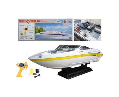rc electric boats sea tour 1 25 rtr electric rc boat