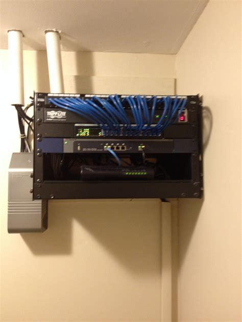 home network home network rack backbone wiring computer