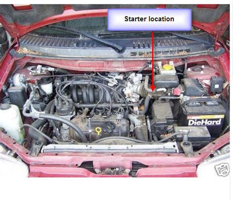 1999 infiniti g20 starter removal nissan altima 2000 starter location get free image about