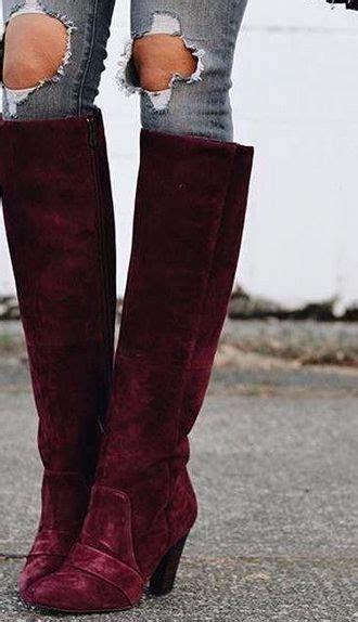 17 beste idee 235 n burgundy boots op