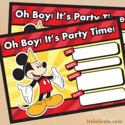 free mickey mouse party printables little wish parties