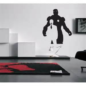 Iron Man Wall Sticker iron man wall decal geek decor