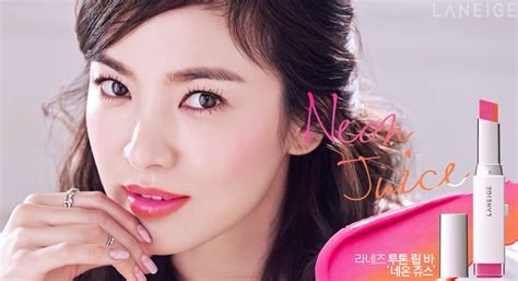 Eyeshadow Laneige song hye kyo s lipstick in korean drama descendants of