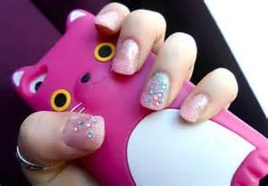 cotton candy nail art youtube