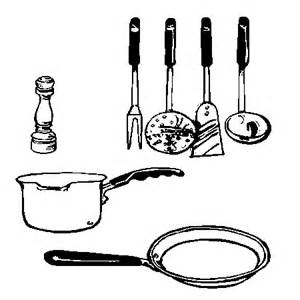 dessin d ustensiles de cuisine 2