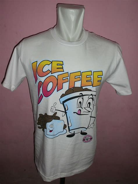 Kaos Coffee kaos sablon sw look media