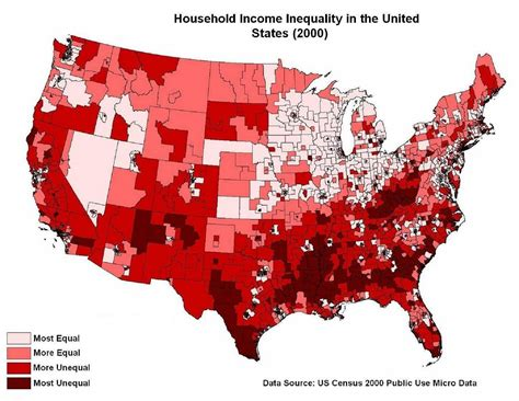 map of us states by income bloggles us income distribution
