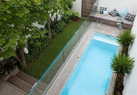 Small Backyard With Pool Landscaping Ideas Small Pool Design Http Lomets
