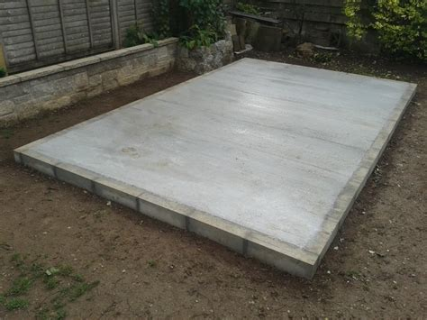 Laying A Shed Base concrete shed base installers orpington bromley beckenham