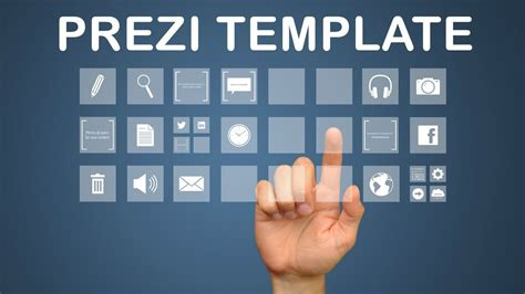 interactive media prezi template youtube