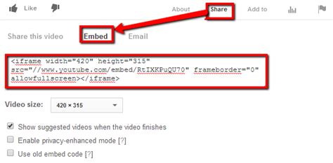 html tutorial embed video how to embed videos on online forms 123contactform